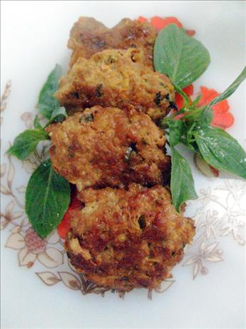 Thai Spicy Pork Patties