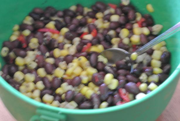 Island Black Bean Salad