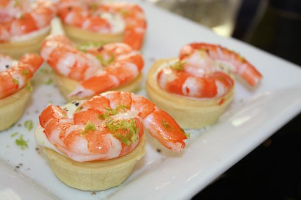 Prawn (Shrimp) and Lime Tartlets