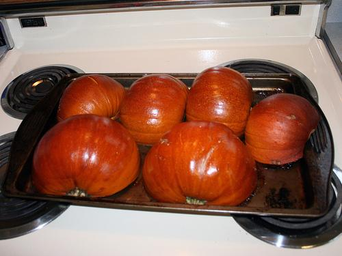 Fresh Roasted Pumpkins
