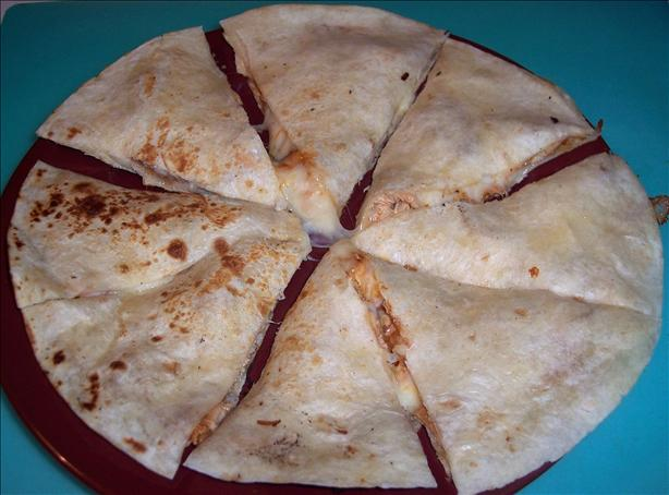 Chicken Barbecue Quesadillas