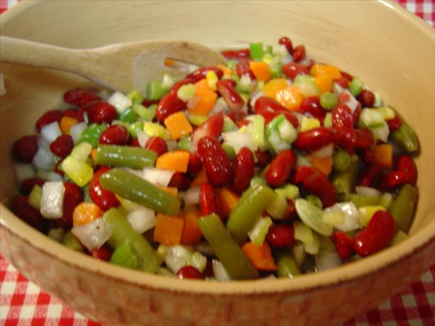 Piquant Mixed Vegetable Salad