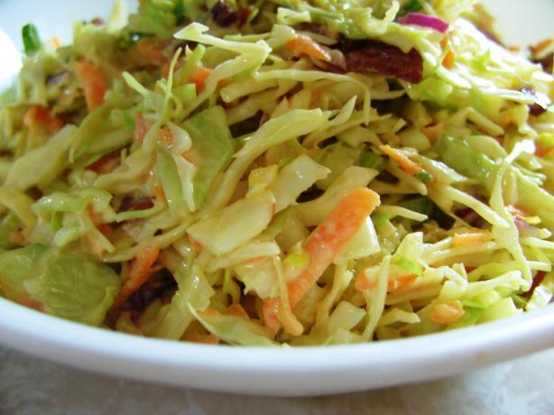 Spring Vegetable Coleslaw