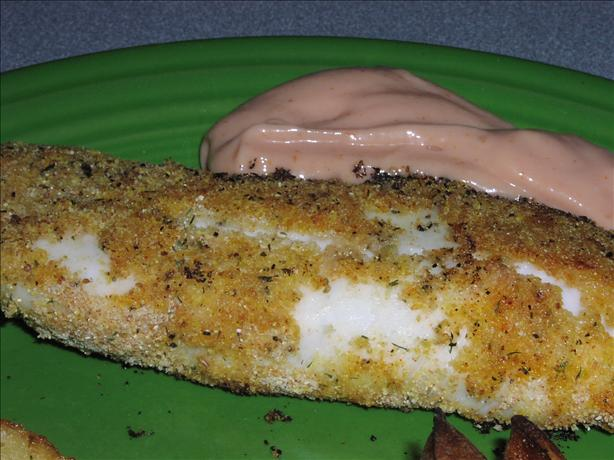 Weight Watcher Oven Fried Fish