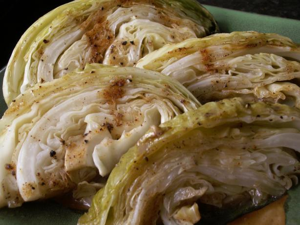 Grilled Cabbage by Richard