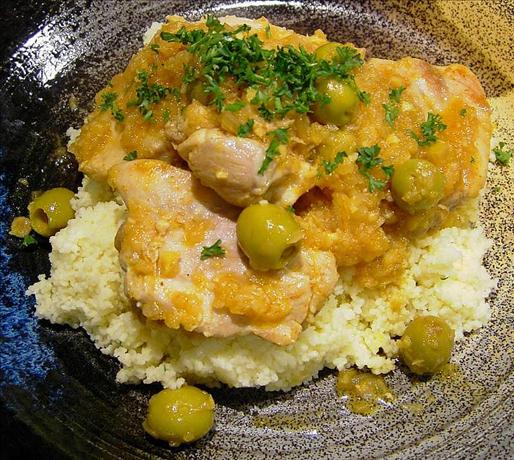 Chicken and Preserved Lemon