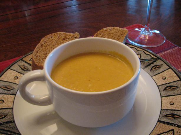 Creamy Pumpkin Soup (From Australia)
