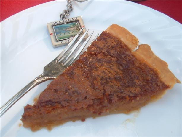 Canadian Maple Syrup Pie