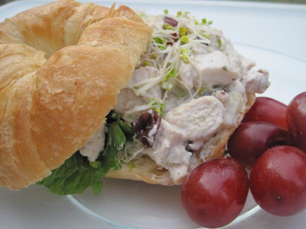 Barefoot Contessa's Chicken Salad Veronique
