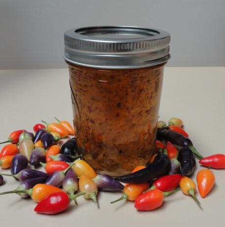 Sweet Hot Pepper Jelly