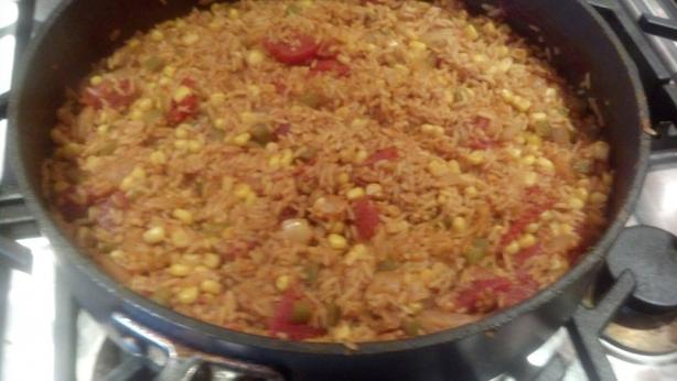 Low-Fat Spanish Rice