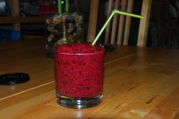 Tri-Berry Smoothie