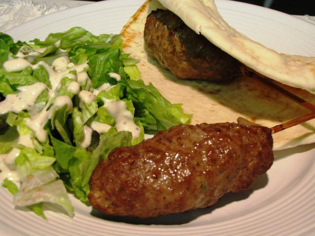 Moroccan Ground Beef Kebab / Skewers