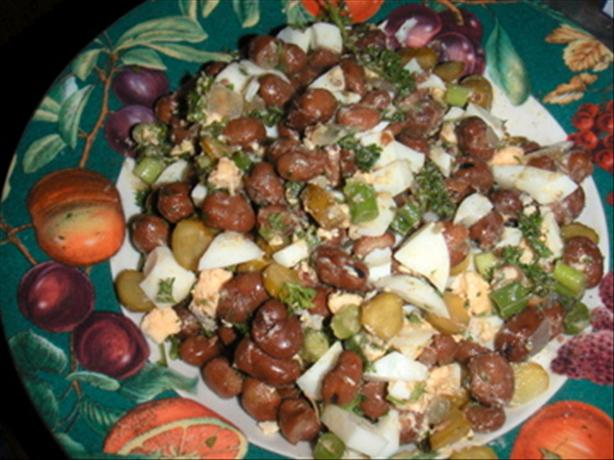 Egyptian Brown Bean Salad