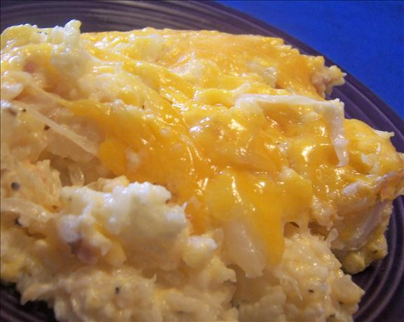 Mashed Cauliflower With Sauerkraut Casserole