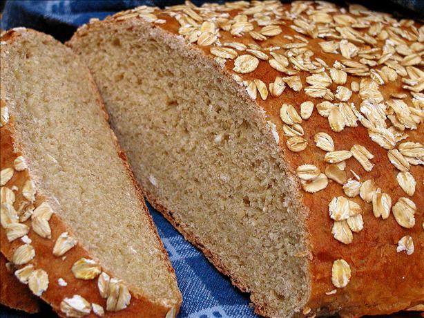 Chewy Banana Oatmeal Bread (A*b*m)