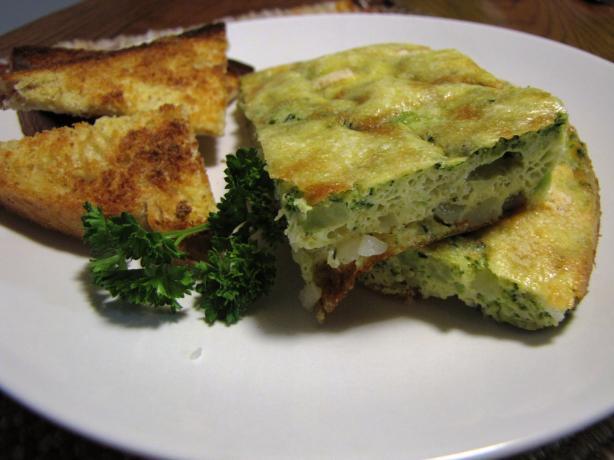 Baked Broccoli Frittata