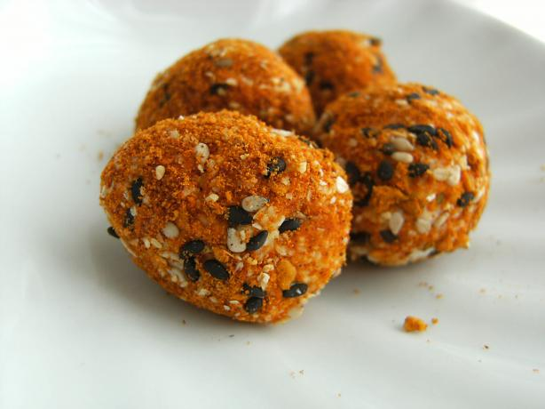 Rainbow Goat's Cheese Balls