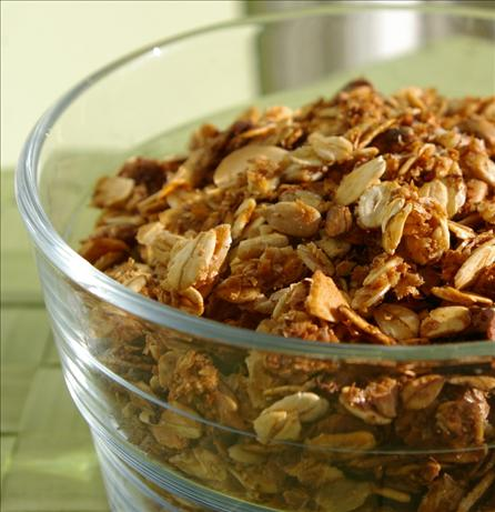 Maple-Walnut Granola