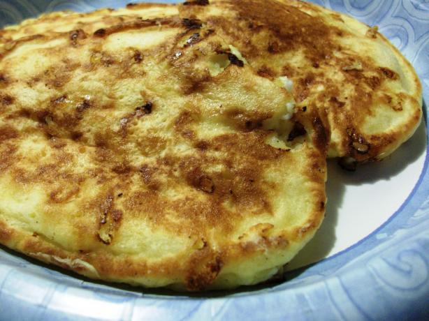 Sweet Cottage Cheese Latkes