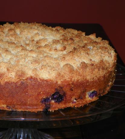 Barefoot Contessa's Blueberry Crumb Cake