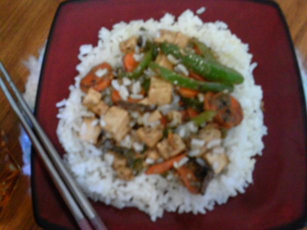 Alisha's Easy Tofu Stir-Fry