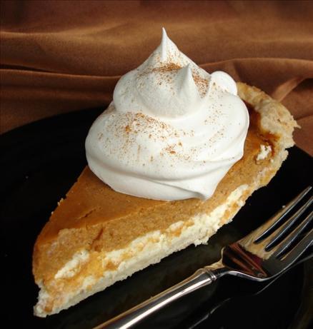 Pumpkin Cream Cheese Layer Pie