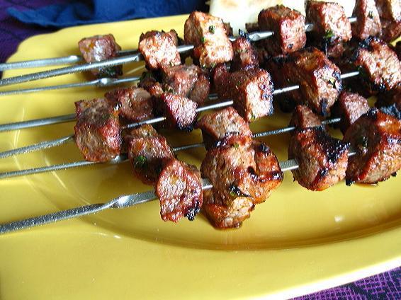 Moroccan Beef Kebab / Skewers