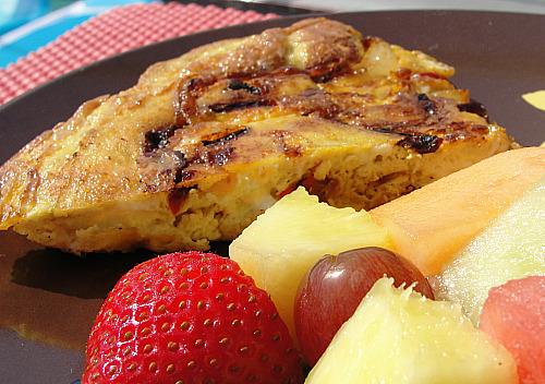 Omeleta Horiatiki (Greek Omelet)