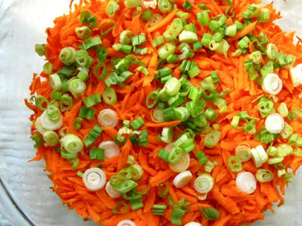 Baked Grated Carrots