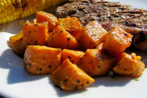 Cajun Roasted Sweet Potatoes