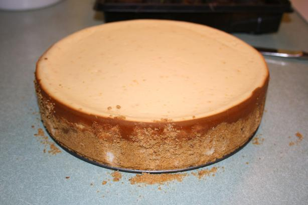 Chocolate Topped Orange Cheesecake