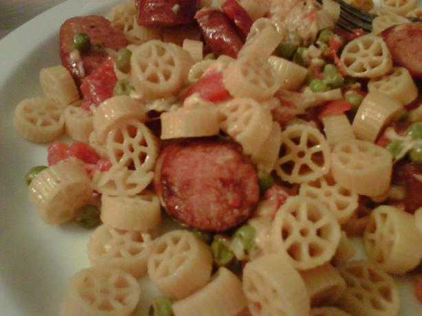 Turkey Sausage and Lemon Pasta