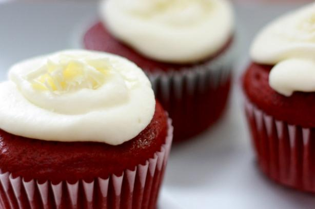 Moist Most Delicious Redvelvet Cup Cakes With Sizzling Frosting