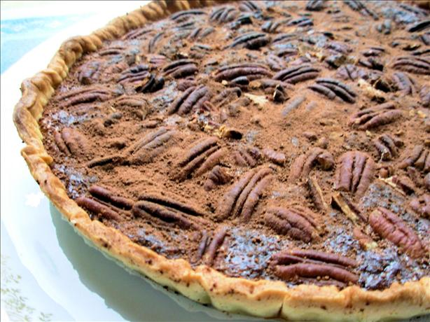 Chocolate-Oatmeal-Pecan Pie