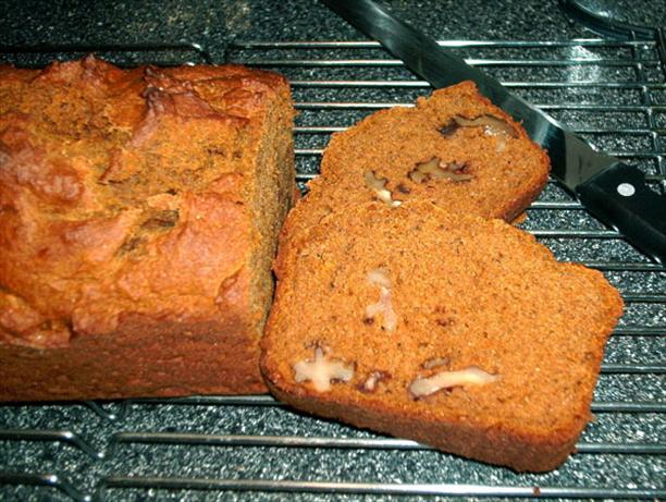 Whole Wheat Pumpkin Nut Bread