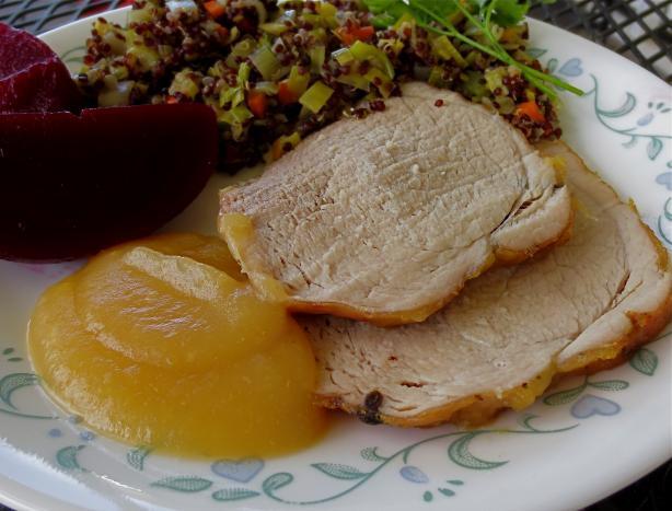 Glazed Pork Roast (Pieczony Schab)
