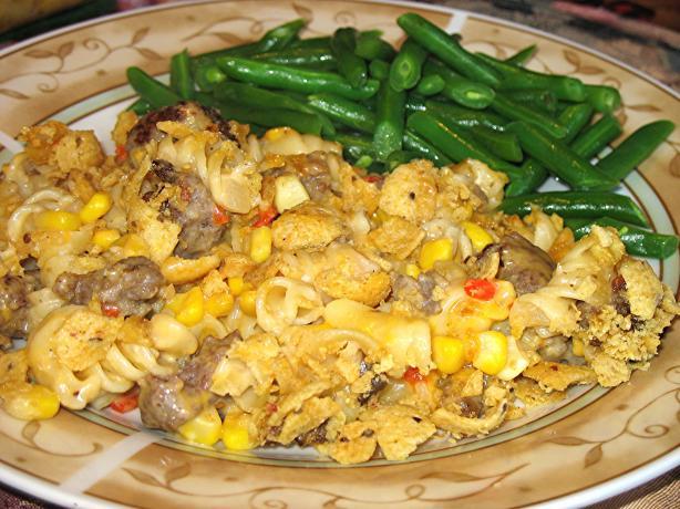 Sausage - Noodle Casserole