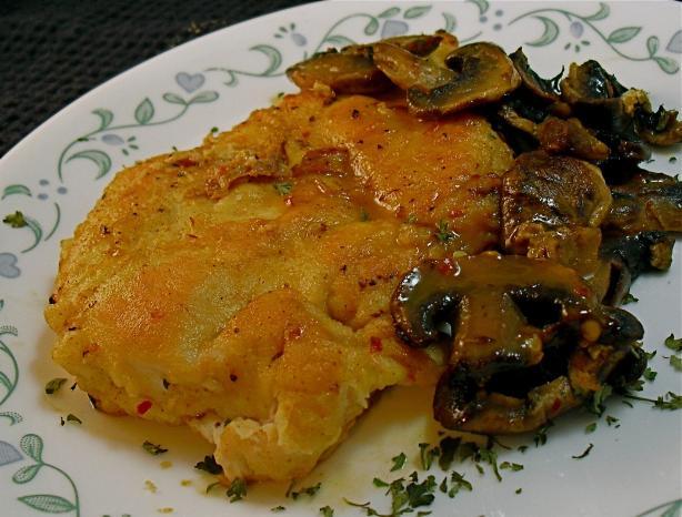Spicy Honey Orange Chicken Breasts With Mushrooms