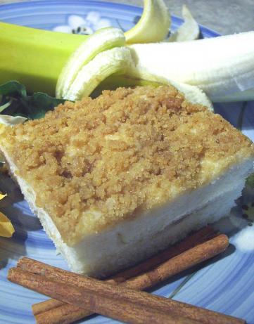 Banana Streusel Coffee Cake