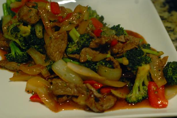 Orange Scented Beef Stir-Fry