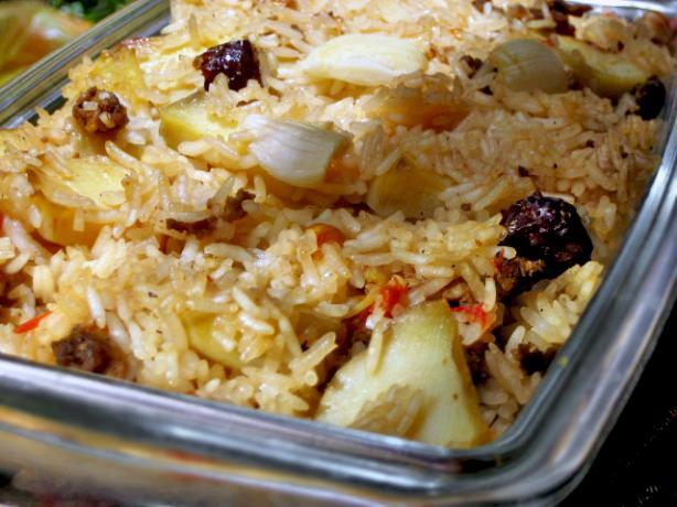 Arroz Al Horno (Baked Spanish Rice)
