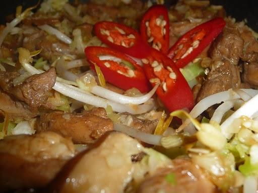 Moo Shu Chicken (Diabetic Friendly)