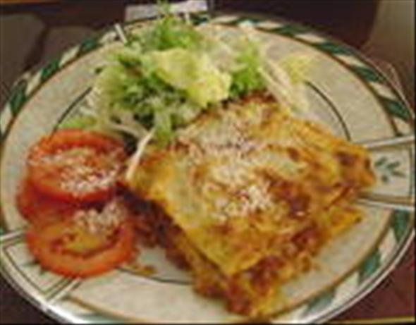"Lasagna ""with a Bit of a Bite!"""