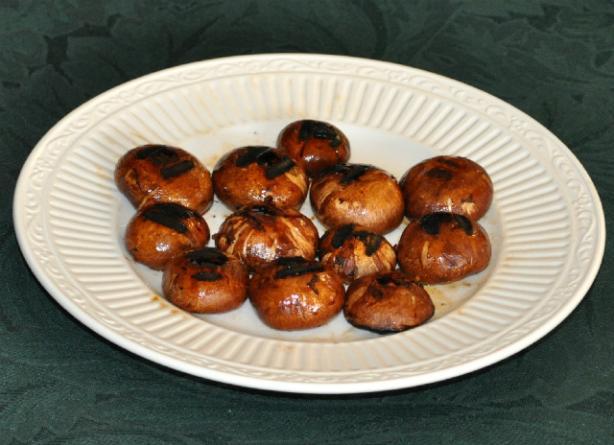 Ginger-Marinated Grilled Portabella Mushrooms