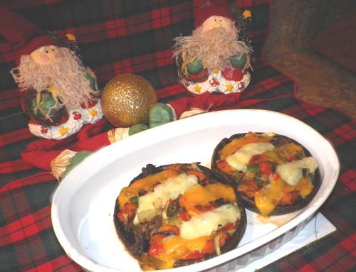 Brunch: Portabella Stuffed Mushrooms