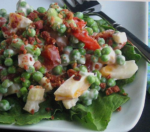 Pea Salad With a Twist