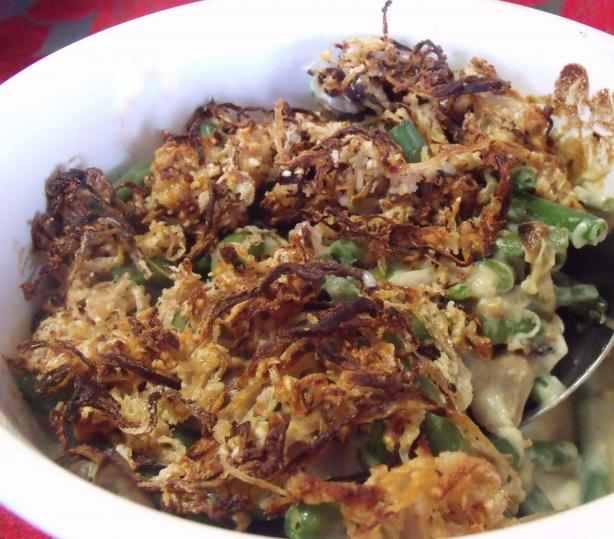 Good Eats Green Bean Casserole (Alton Brown 2007)