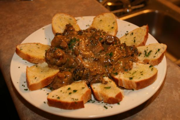 Sauteed Mushrooms With Tarragon Cream Sauce