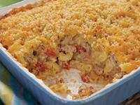 Turkey Burger Mac N' Cheese